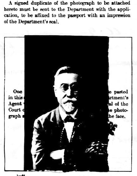 Pasquale Sannino, age 56,  1925 U.S. passport