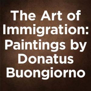 Donatus Buongiorno gets a gallery show in New York