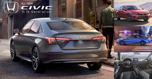 All NEW Civic 11th Generation