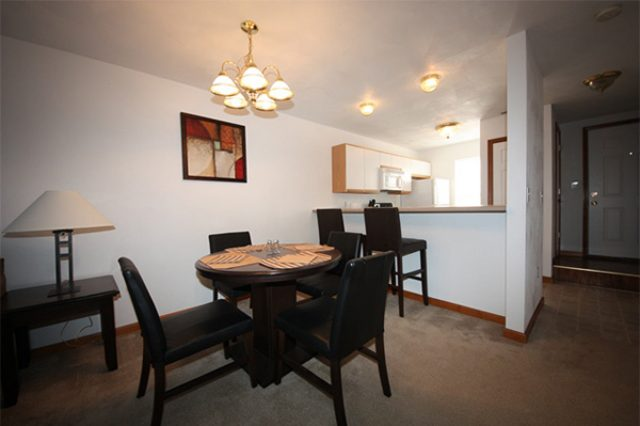 "157 Park Place- ""furnished"" dining area example"