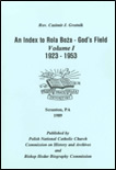 An Index to Rola Boza—God's Field