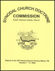 Church Doctrine Commission Report to XXI General Synod—2002