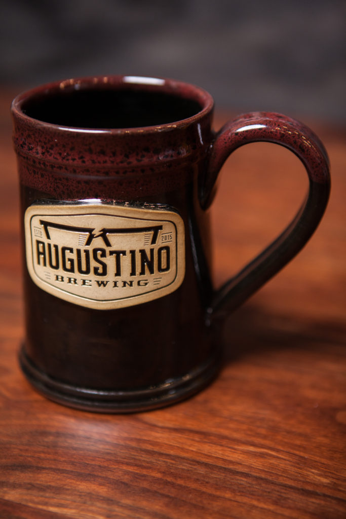 Stoneware 20oz Mug Available from Augustino Brewing Company