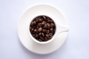 Augustino Brewing Beans in Coffee Mug