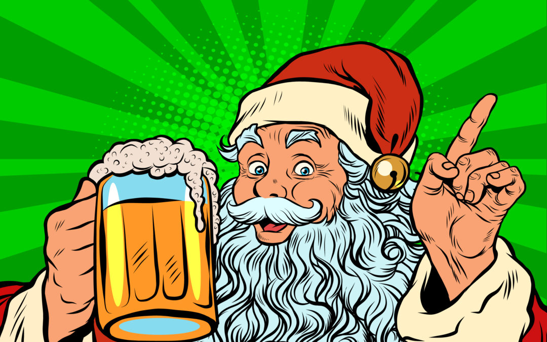 Santa Comes to Augustino Brewing