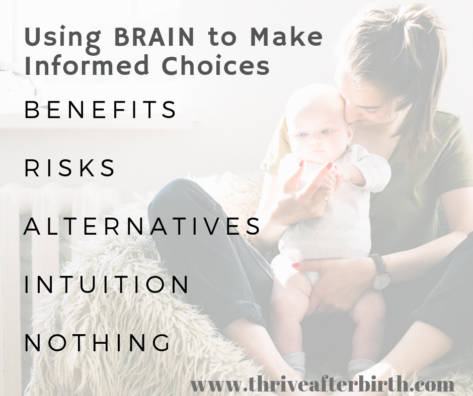 Using Brain to make informed choices
