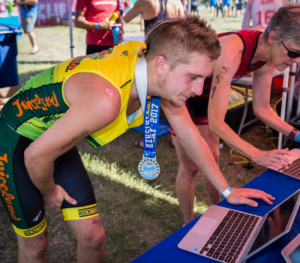 Professional timing gives you accurate results as soon as you cross the finish line.