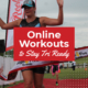 Online workout to Stay Tri Ready