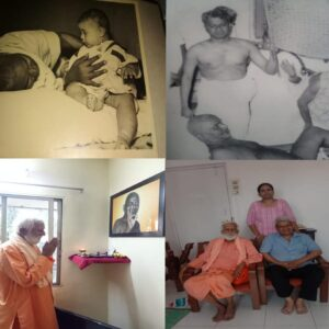 Visiting home of Shri. Shankar Nair, son of Shri. P.K. Nair