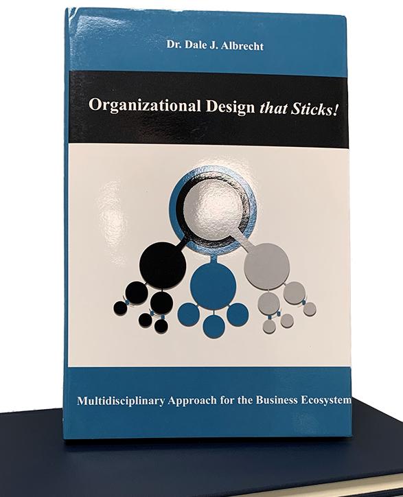 Photo of book Organizational Design that Sticks