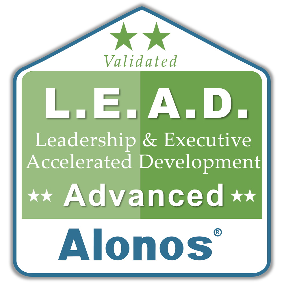 badge image for LEAD advanced program