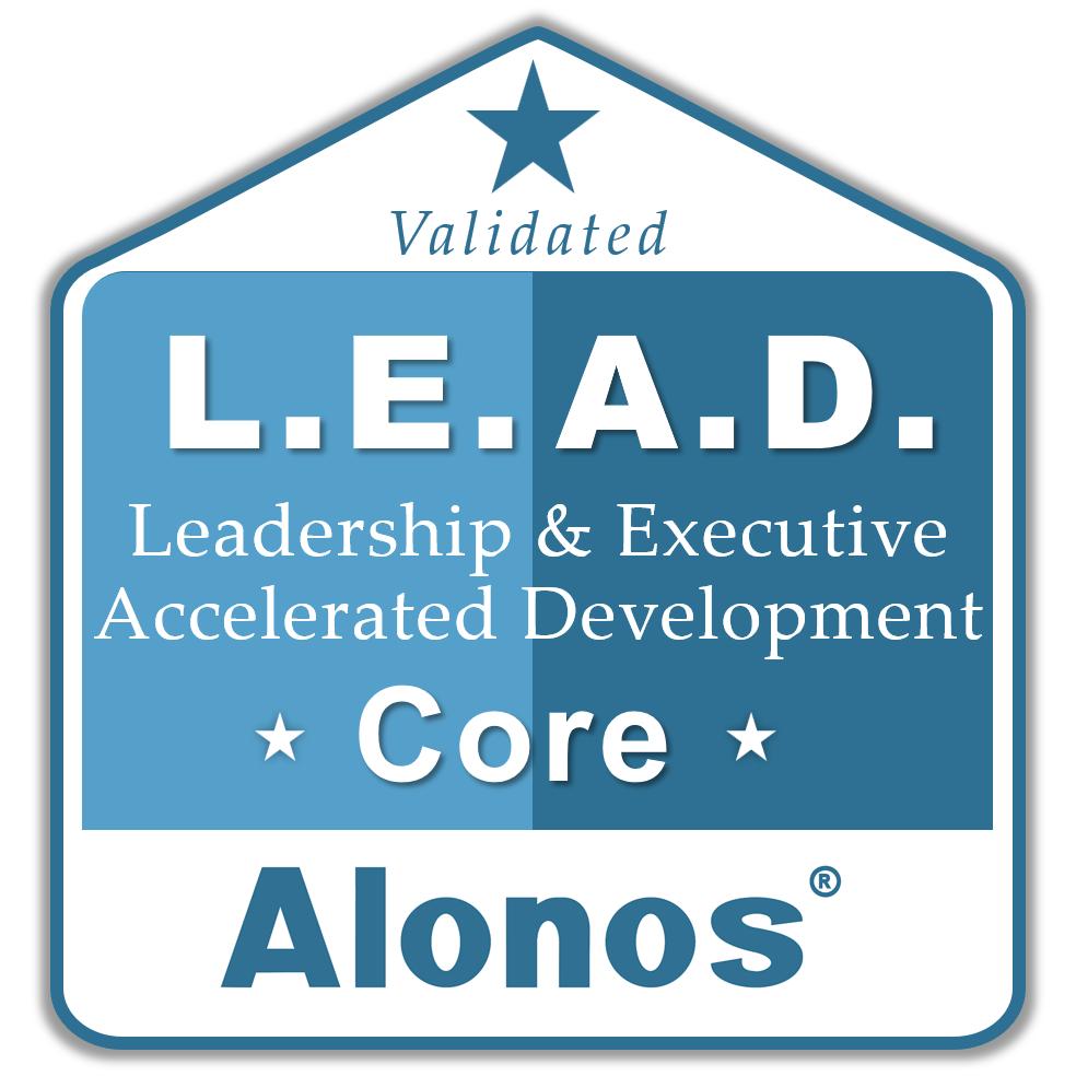 badge image for LEAD core program
