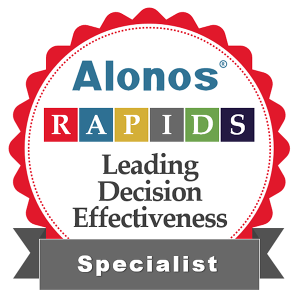 image of digital badge for decision making specialist