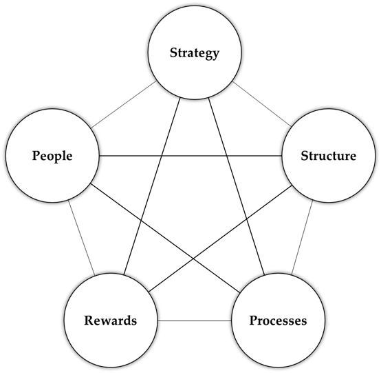 Graphic of the Galbraith Star Model
