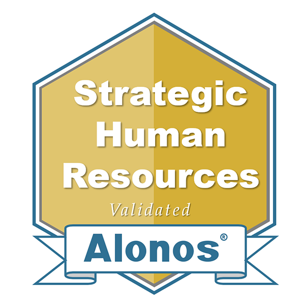 image of the strategic hr badge