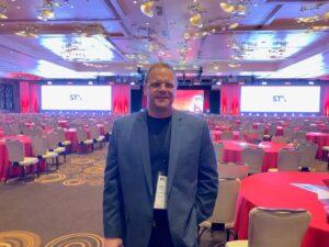 photo of dale at STX in Las Vegas