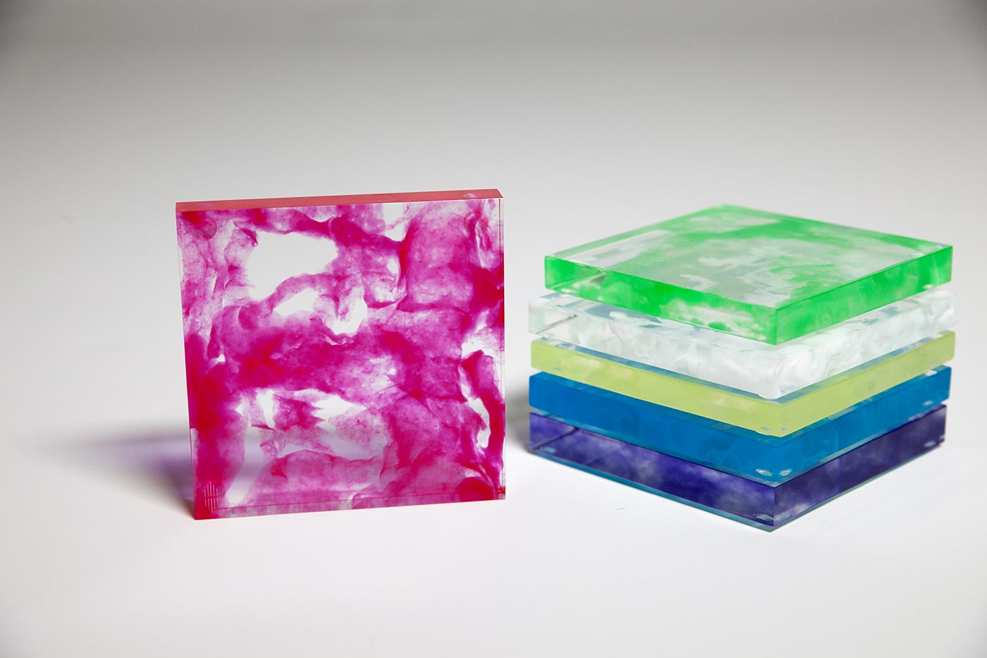 Sawyer Collection Lucite Coasters