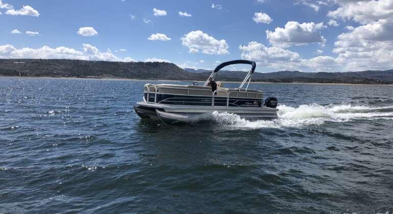 10-Person Pontoon Boat A, B, & C