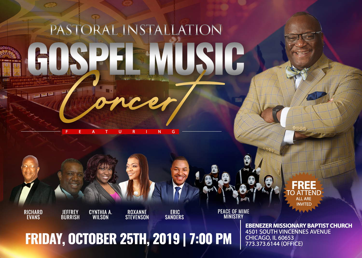 Installation Gospel Music Concert - Final
