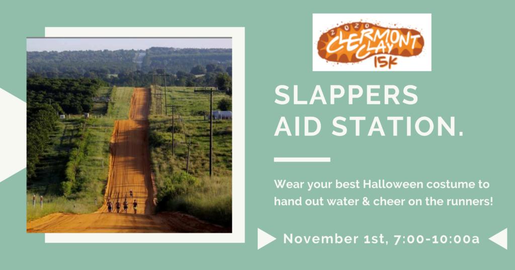 SLAP aid station.
