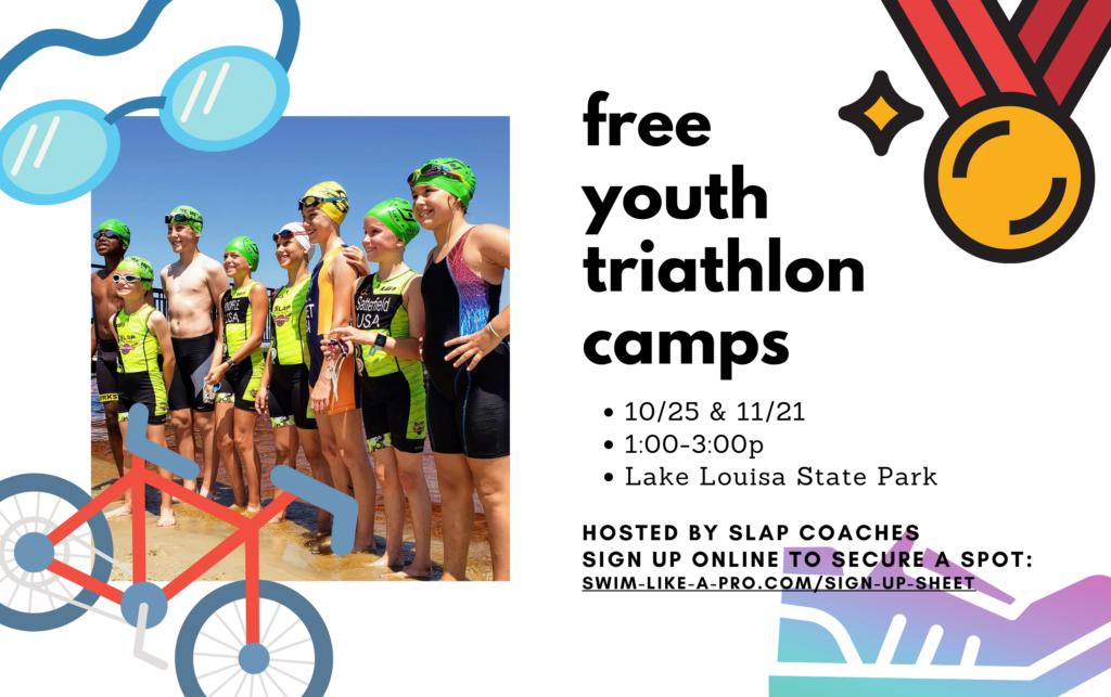 youth triathlon camp