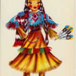Doll of American Indian