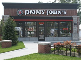 Jimmy John's Michigan Storefront