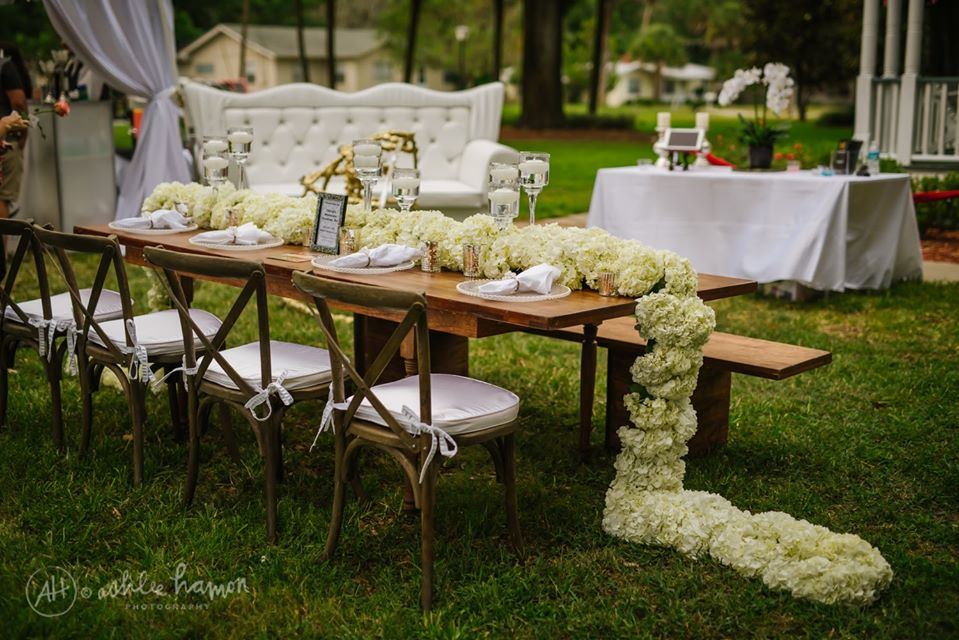 Spring Soiree - CDC Floral table design