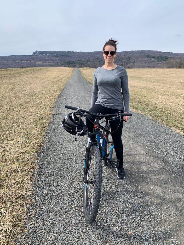 Kristen bicycle
