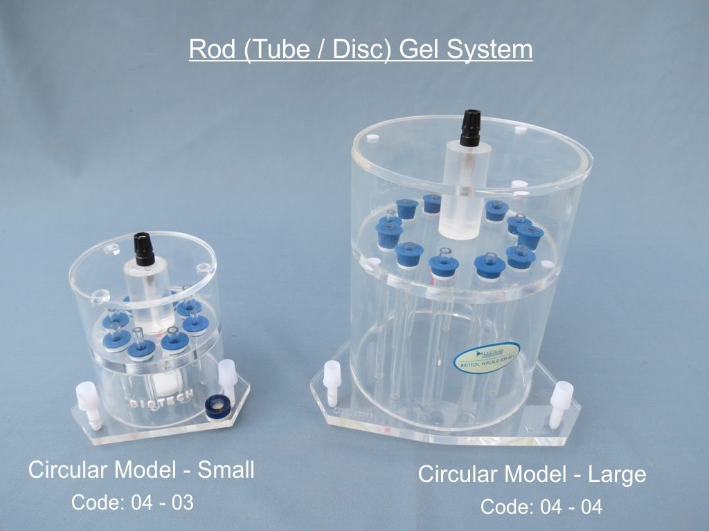 Rod (Tube/Disc) Gel System