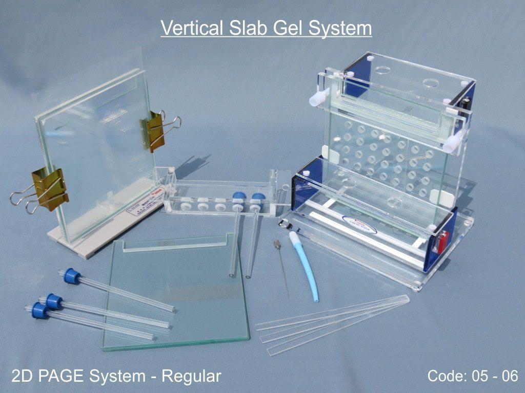 Vertical Slab Gel System - 2D PAGE System