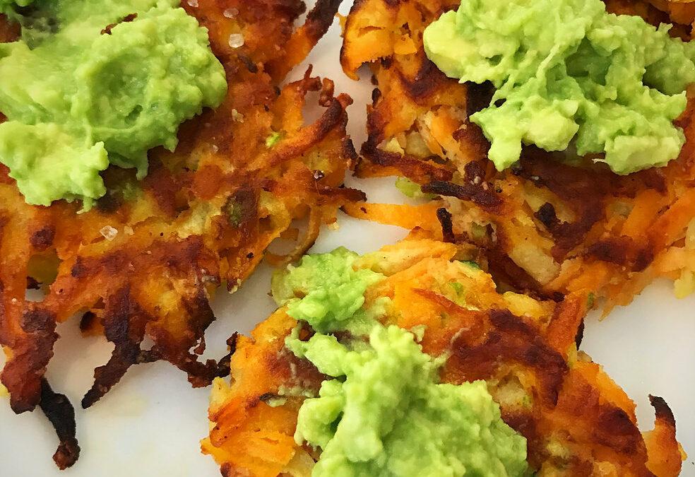 Sweet Potato Zucchini Fritters