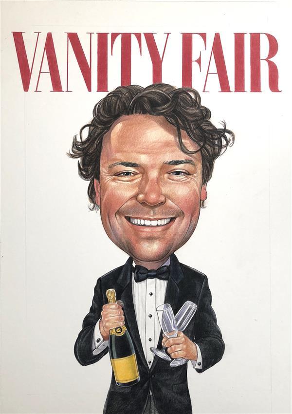 Business caricature