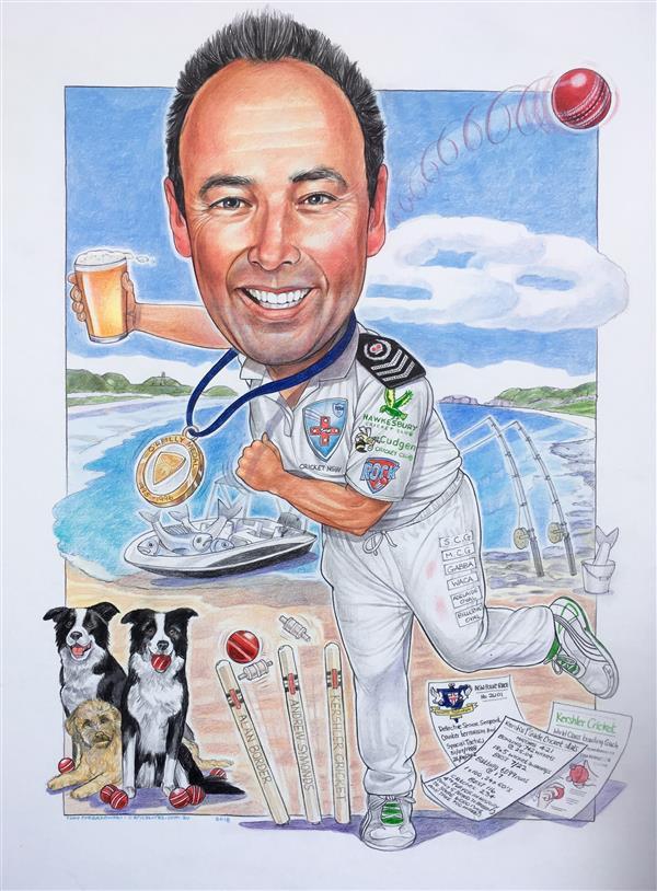 Anthony Kershler, legendary spin bowler.
