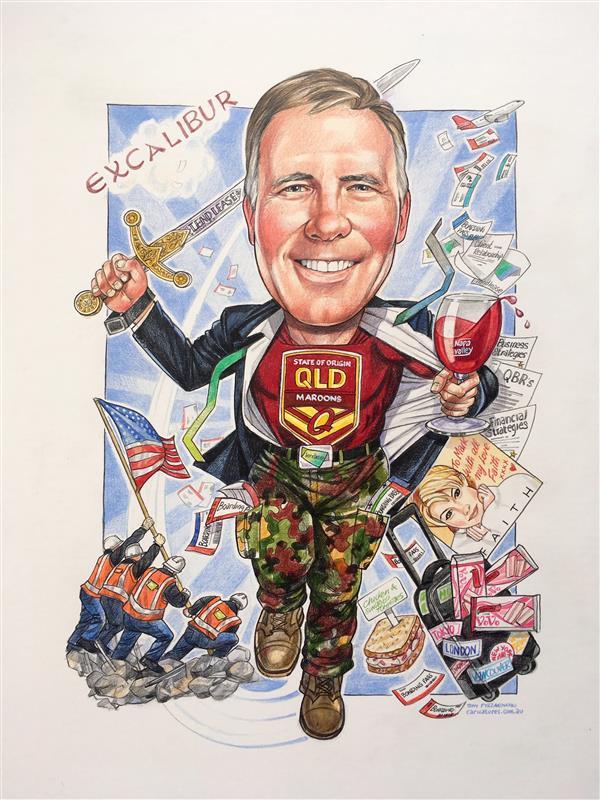 Retirement portrait for LEND LEASE executive