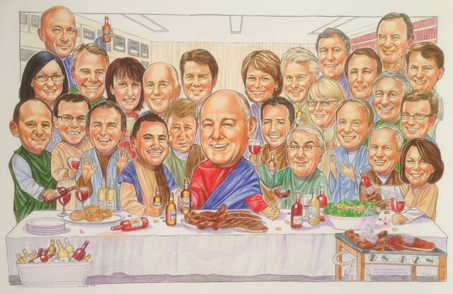 National Party Canberra Group Caricature