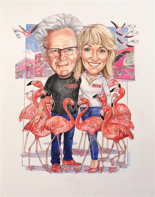 Ron and Pippa. Founders of THE MIAMI AD SCHOOL. Now worldwide, including Sydney