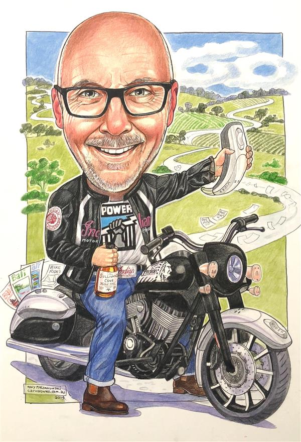 Mawbs, Ace Audiologist and his Indian bike