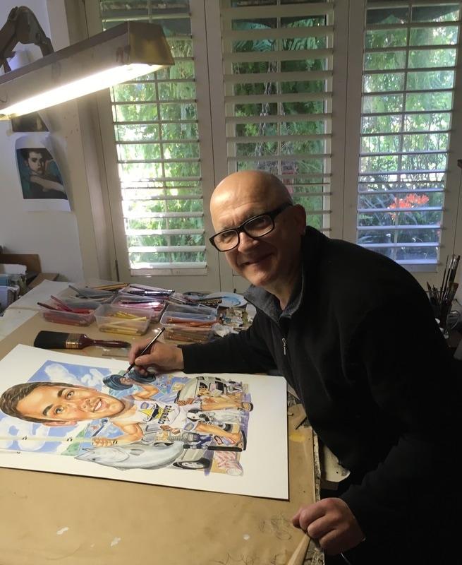 Tony Pyrzakowski :: caricatures.com.au