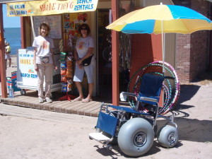 Beach Wheelchair 006