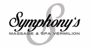 Symphonys logo Vermilion