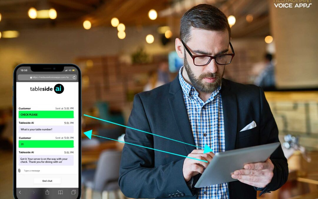 Press Release: Customer to Kitchen Messaging With Tableside AI