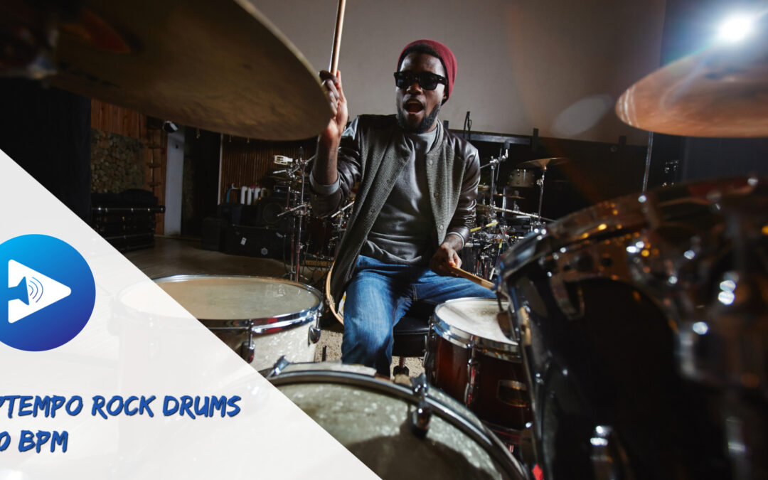 Uptempo Rock Drum Loops 120 BPM