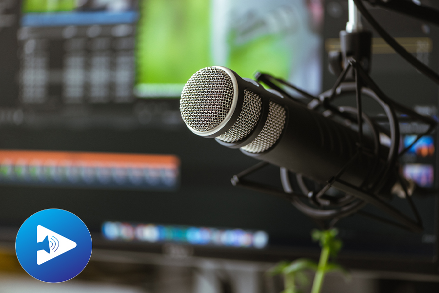 Podcast Editing and microphone