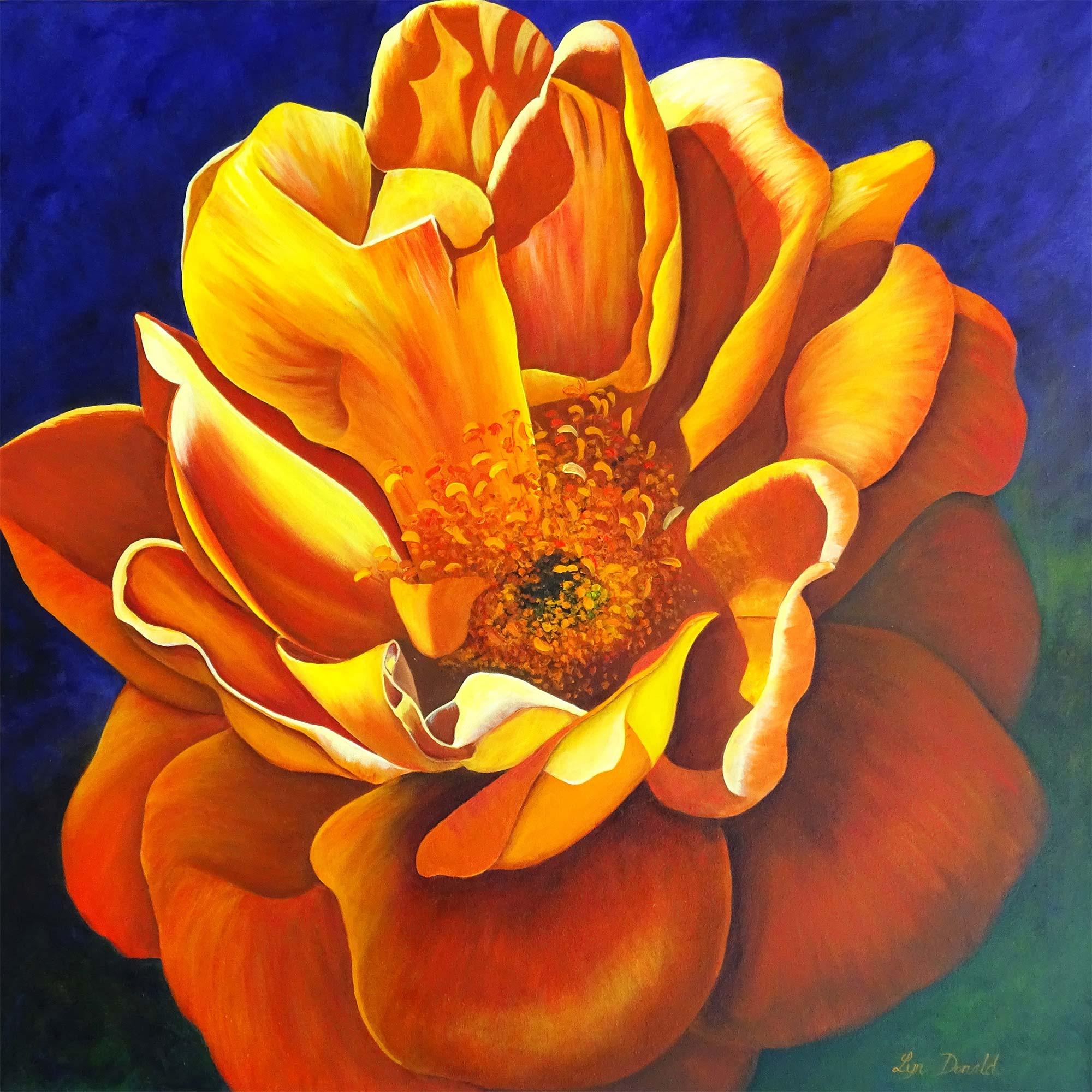 Lyn Donald - Art Teacher - Woburn Abbey's Firey Passion