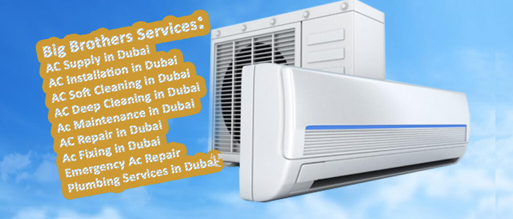 Ac deep cleaning in Dubai