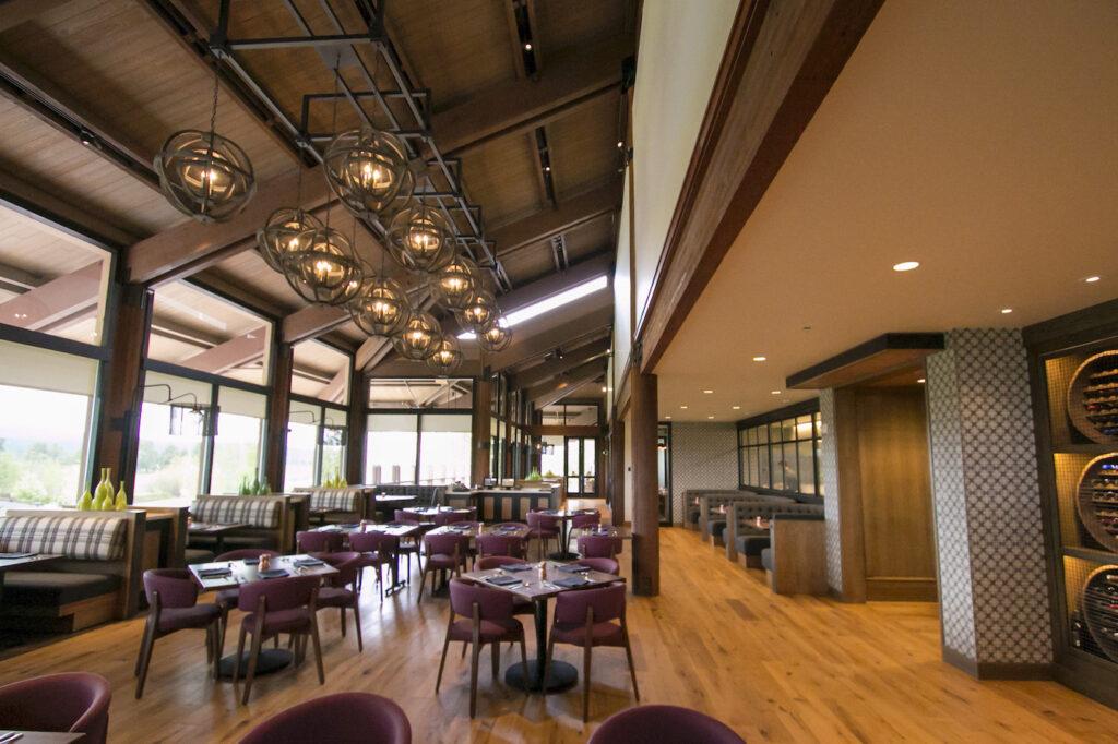 A restaurant at the Institute for Enrollment Management at Sunriver