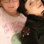 April & her delightful daughter Salem