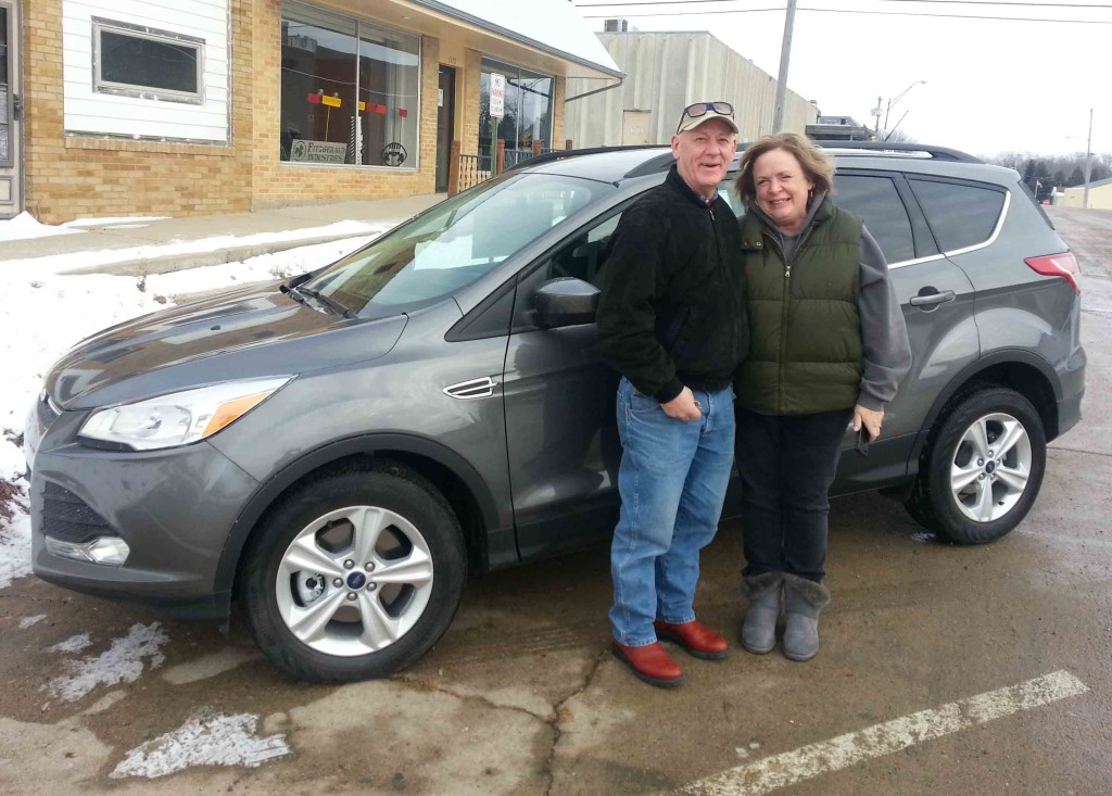 Jim and Julie Walstrom and their New 2014 Escape