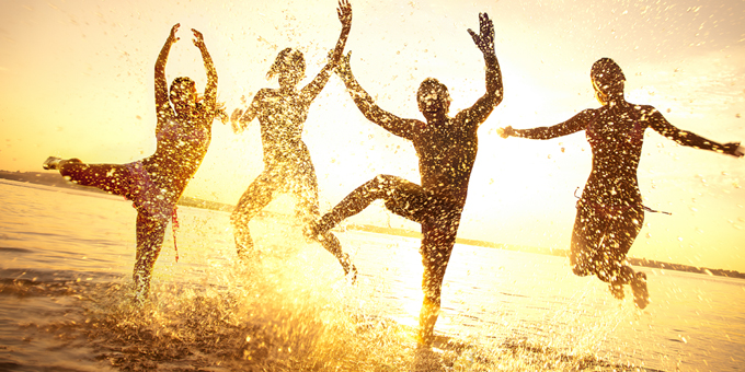 Simple Ways to Live a Happy, Healthy and Wealthy Life